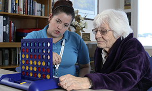 Improving activity and engagement for patients with dementia