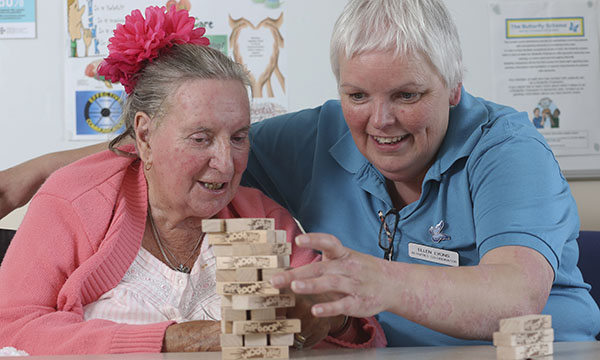 Engaging patients with dementia at Glan Clwyd Hospital
