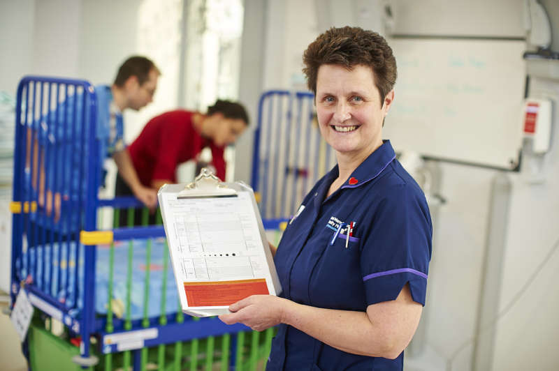 Nursing Standard Nurse Awards nominee, Gillian Robinson
