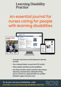Learning Disability Practice poster