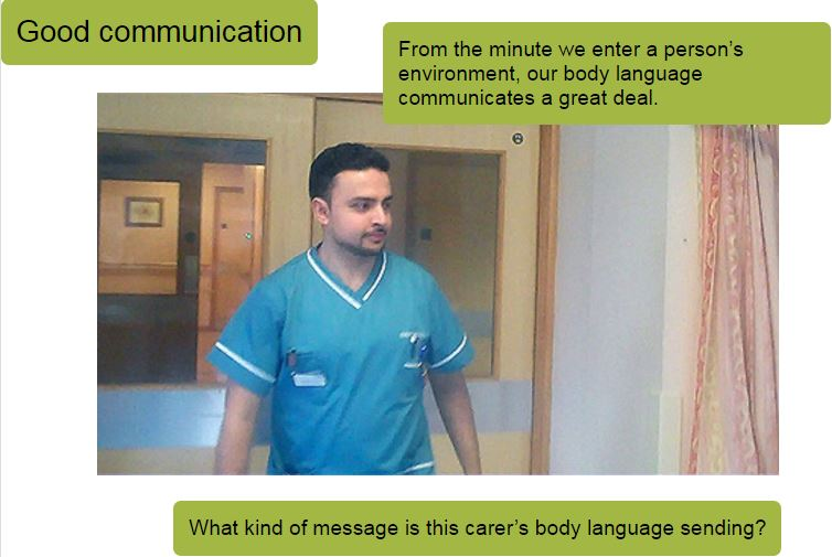 why is written communication important in health and social care