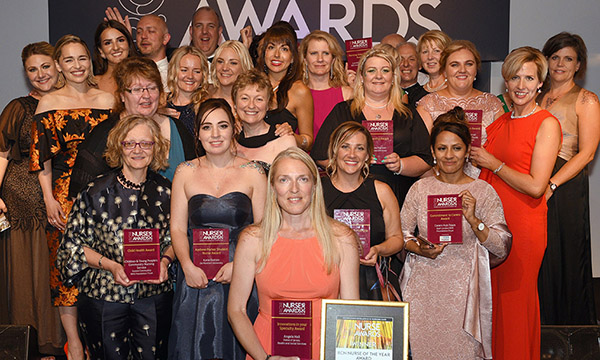 RCNi Nurse Awards winners