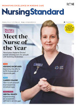 Read a sample edition of Nursing Standard