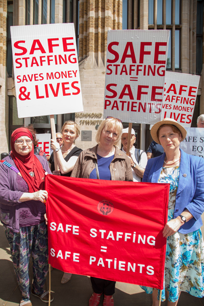 Safe staffing demonstration