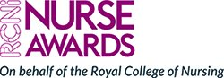 Logo for RCNi nurse awards