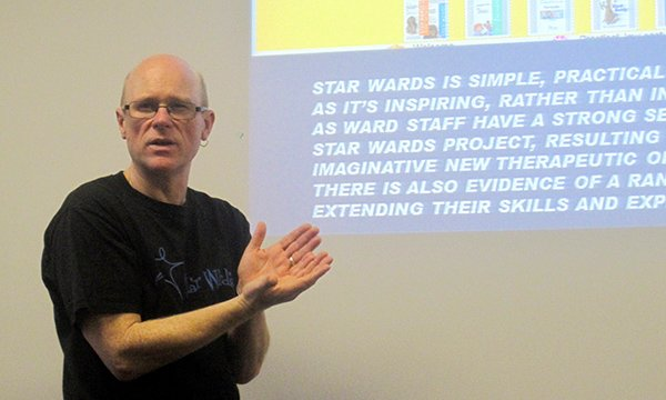 Geoff Brennan, a member of the Safewards team at King's College London's Institute of Psychiatry, Psychology and Neuroscience and executive director for Star Wards
