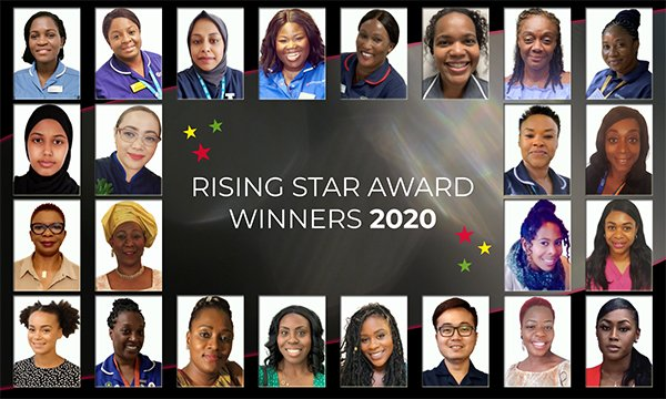 The 24 winners of RCN London's Rising Star Awards 2020