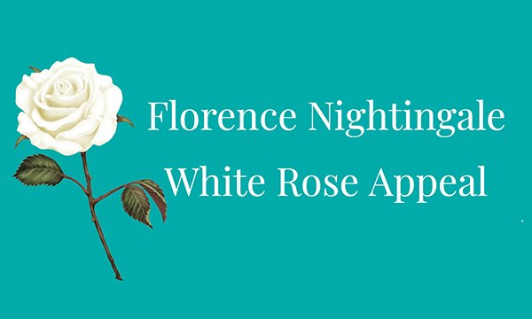 Florence Nightingale White Rose Appeal logo