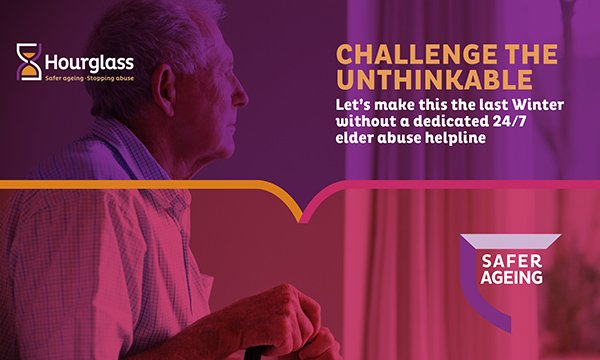 Cover of Hourglass's Challenge The Unthinkable campaign booklet