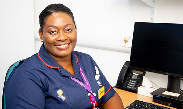 Leonie Brown became a nurse, following in her grandmother's footsteps