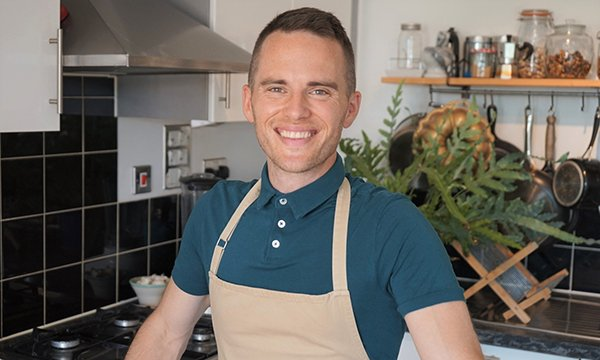 Registered nurse David Atherton, who won the Great British Bake Off in 2019, is lending his support to Cavell Nurses' Trust's Raise Your Whisks fundraising campaign for healthcare staff