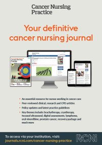 Cancer Nursing Practice poster