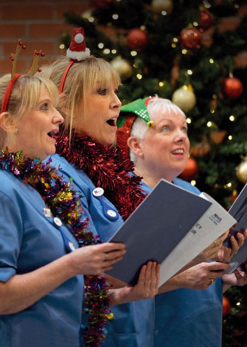 Forth Valley Nurses' Choir sing