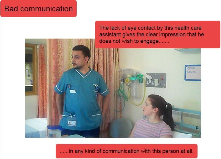 Non-verbal communication | RCN