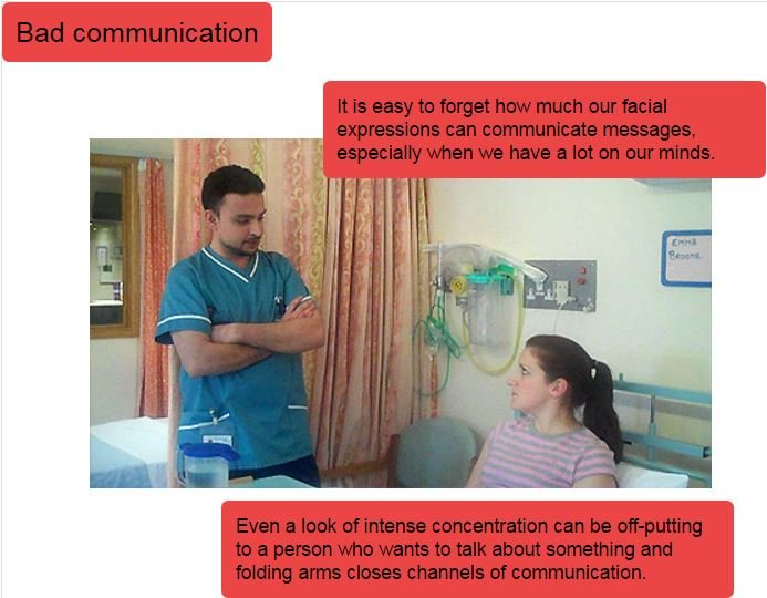 Non-verbal communication | RCN