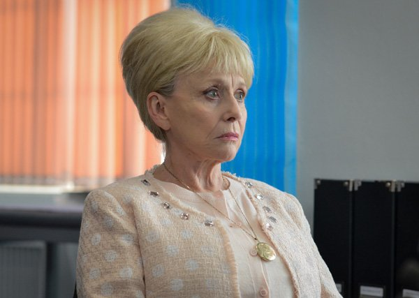 Actress Barbara Windsor as Peggy Mitchell.  Picture credit: BBC