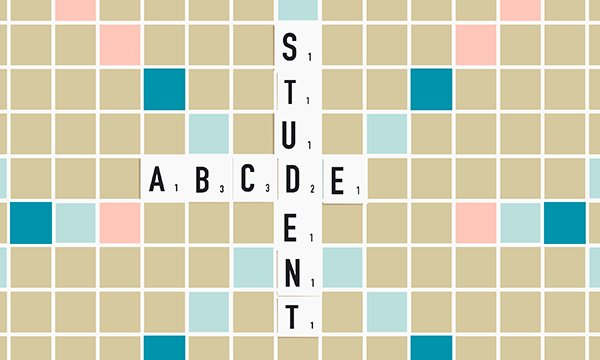 STUDENT ABCDE - tiele