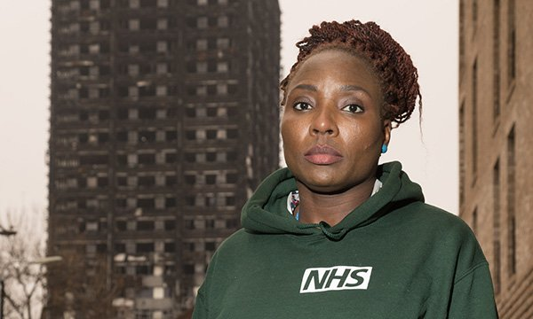 Grenfell Tower outreach team member Sandra Ifidon Osagiede