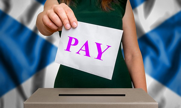 Scotland Pay Vote