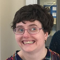 Image shows learning disability campaigner Amanda Cresswell