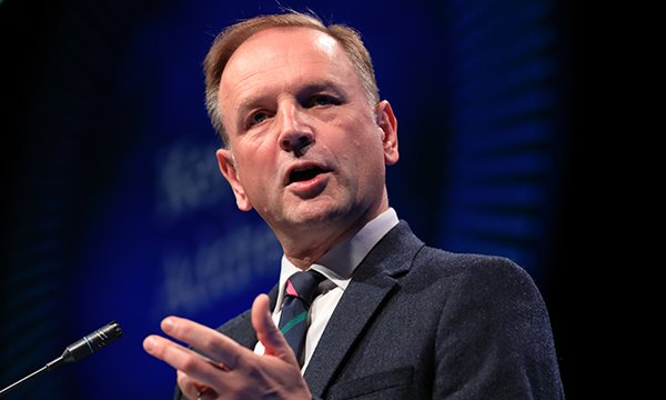 NHS England chief executive Simon Stevens welcomes the new deal with drug manufacturer Biomarin, which produces a drug cerliponase alfa which helps treat Batten disease.