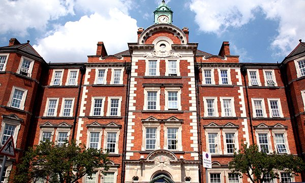 Picture shows Hammersmith Hospital in London. Tributes have been paid to a London nurse and an Inverclyde care worker following their deaths amid the pandemic.