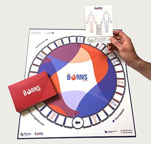 Burns boardgame