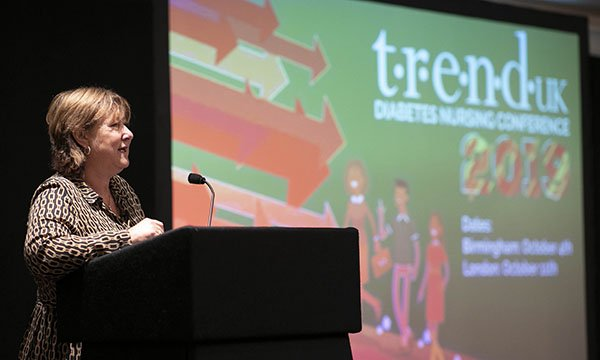 Debbie Hicks, co-chair of TREND-UK, which represents diabetes nursing groups