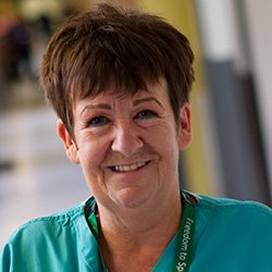 Senior nurse Denise Guzdz, who is a 'freedom to speak up' champion. Being on the receiving end of incivility is always unpleasant but in a healthcare setting it can be dangerous.