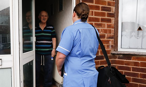 Rapid response teams including nurses will visit older people at home within two hours of referral