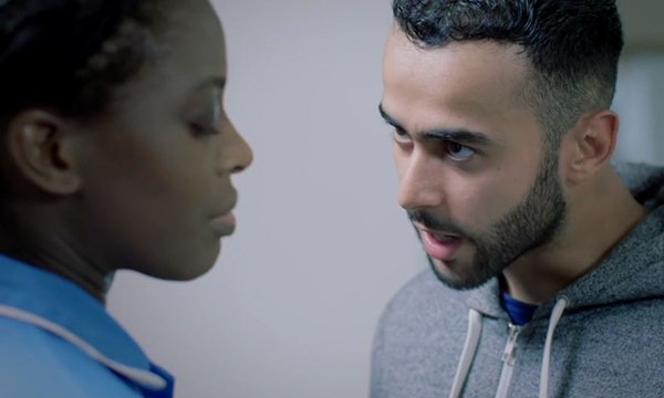 An image from Barts Health NHS Trust's film for staff on how to deal with workplace violence
