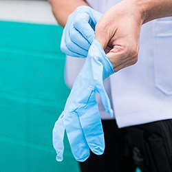 A culture of appropriate glove use in healthcare would have benefits for staff, patients and the environment
