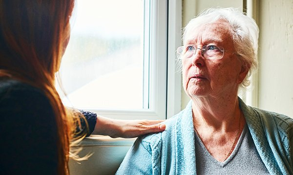 A nurse who is also a carer for a family member may find the relationship changes as illness progresses