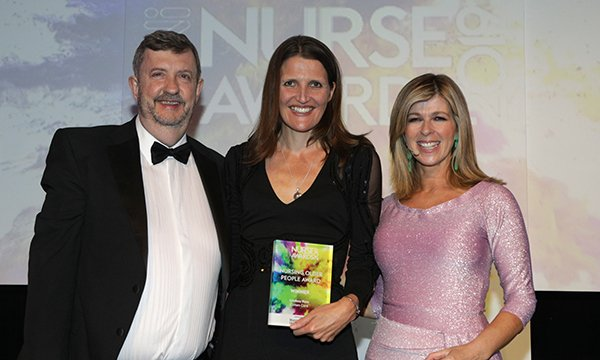 Picture of Gary Bell, Lindsay Rees and Kate Garraway
