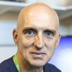 Picture shows Macmillan lead cancer nurse for acute oncology Mark Foulkes, who says his trust, Royal Berkshire NHS Foundation Trust, does not use End of Treatment Bells for cancer patients, and clinicians have mixed feelings about them.