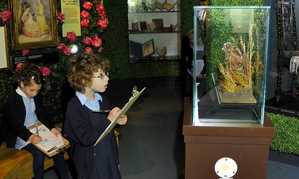 Picture shows children visiting the Florence Nightingale Museum