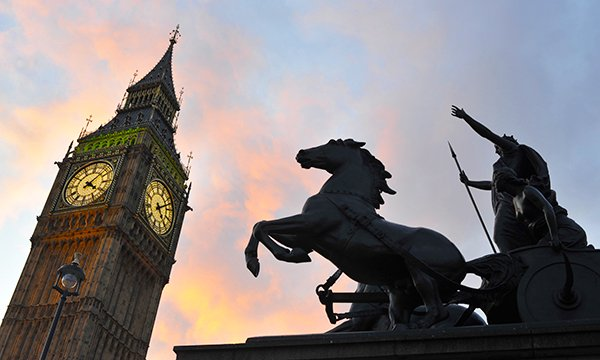 Picture shows upper part of Big Ben at dusk with a statue of a horse and chariot in the foreground. Struggling to adapt to the changing pace of life after retiring from nursing, Jane Bates lists some of the mental triggers that still keep her on edge.