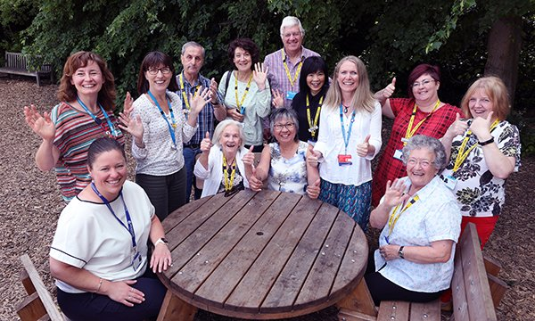 Members of the Dementia Carers Support Service