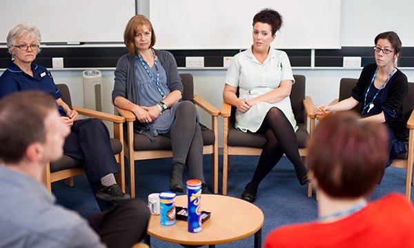 Nurses in a Schwartz round