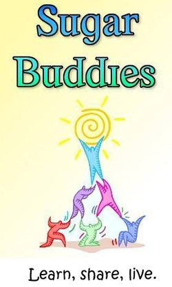Sugar Buddies diabetes peer support group logo