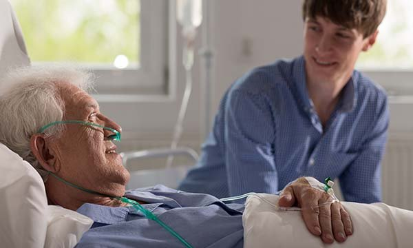 A joint Marie Curie-Helpforce project will train volunteers to sit with patients at the end of life, and provide support to them and their families