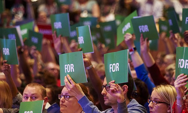 RCN congress vote