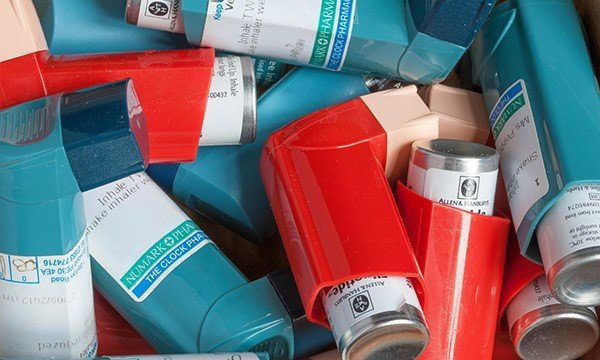 The reusable models will avoid single-use inhalers going to landfill Picture: Alamy