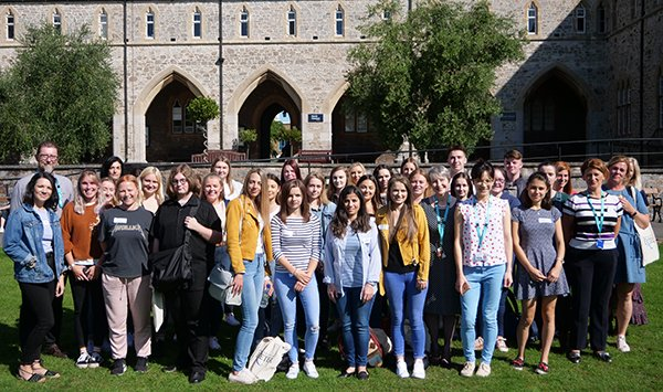 First intake of nursing students at University of Exeter