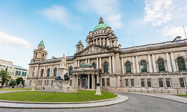 Belfast City Hall. Picture: iStock