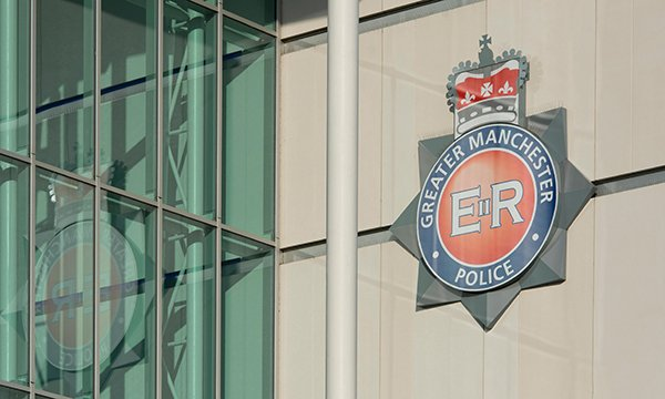 Greater Manchester Police sign