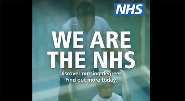 Picture shows a scene from a video produced by NHS England and NHS Improvement
