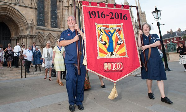 Centenary service at York Minster