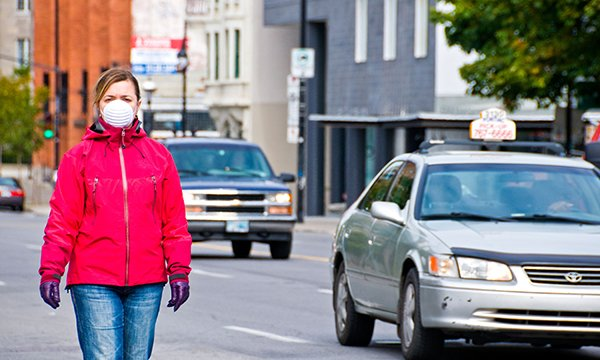 Air pollution can shorten the lives of patients with lung cancer