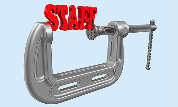 staff pay squeeze